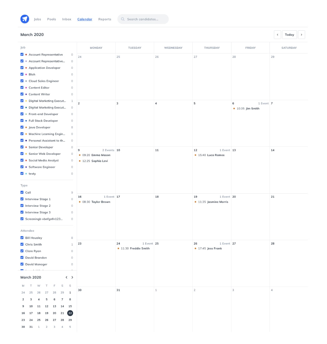 Hiring Automation Feature
